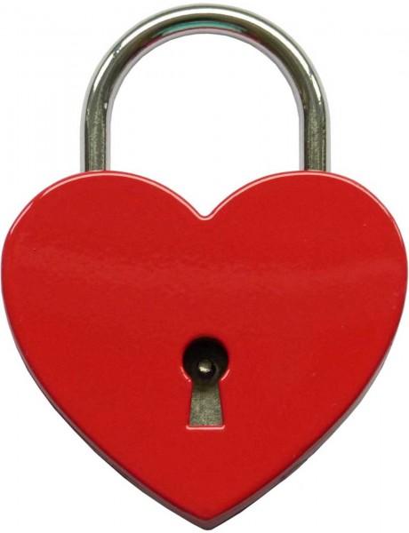 Herzschloss Rot