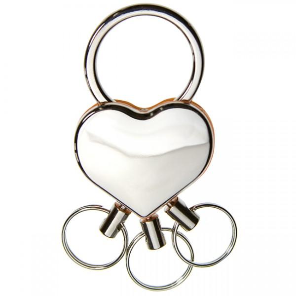 Mehrfach-Schlüsselanhänger Herz